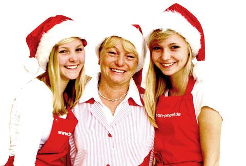 Anna-Lena, Sabine und Hanna wünschen Euch allen eine schöne Advents- und Weihnachtszeit