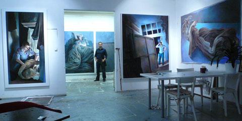 Lukas Johannes Aigner, ehemaliges Atelier in der Honauerstraße, Linz 2007