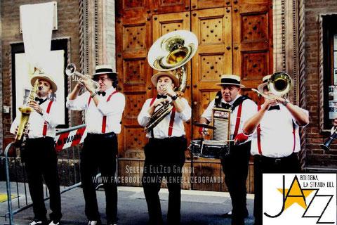 """INAUGURAZIONE """"STRADA DEL JAZZ  2011 - BOLOGNA  (ITALY)"""