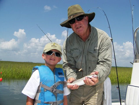 Lynes with a speckled trout