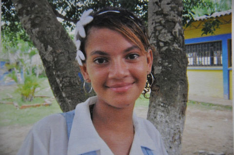 Patenkind aus Südamerika
