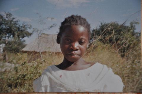 Patenkind aus Afrika