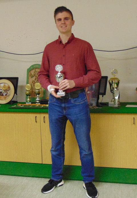 Jugendpokalgewinner Valentin Masko