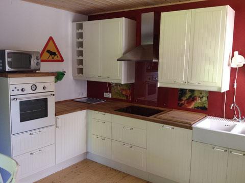 Küche Ferienwohnung Einstein Stolberg-Vicht, Eifel, Region Aachen, Nationalpark Eifel, Urlaub für Familien (auch mit Hund)