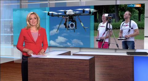 MDR Beitrag Drohnen Experte