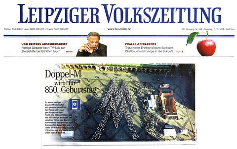 Leipziger Volkszeitung Titelbild