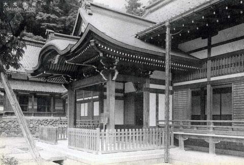 永平寺・大光明蔵・絵葉書(東川寺所蔵)