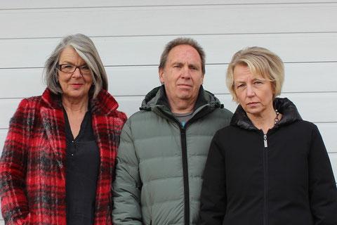 Von links: Karin Mitterbaur, Gerhard Platzer, Karin Karsten,      Bild: Andreas Klug