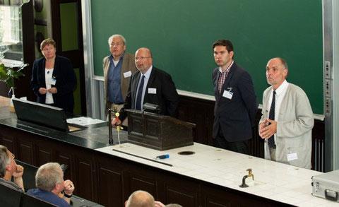 von links nach rechts:  Vogt, Haßmann, Winghart, Lehmann                 (c) Volker Minkus/NLD