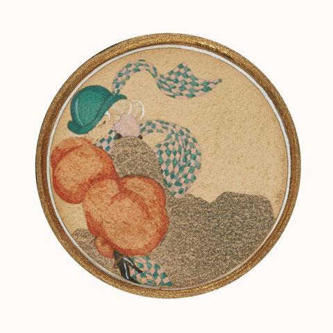 Alexander Rzewuski (1893-1983) , gouache, expose à la galerie agnes thiebault