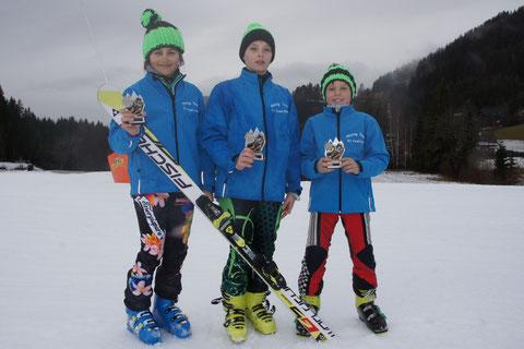 v.l. Magdalena Erlacher, Philip Hoffmann, Florian Hackl