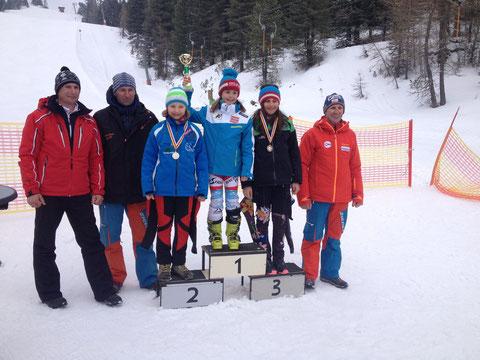 3. Rang für Magdalena Erlacher beim Slalom auf der Turrach