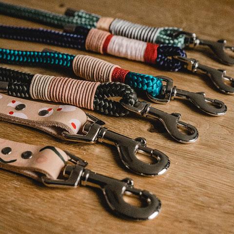Leine nachhaltig Halsband & Halstücher