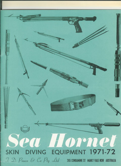 catalogue SEA HORNET