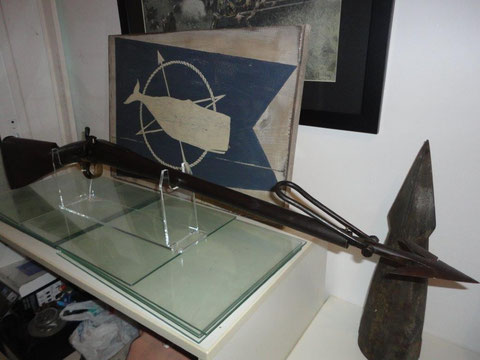 Whaling Harpoon Gun by Charles Osborne and Co,LONDON