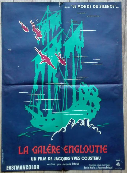 La Galère Engloutie  un film de JACQUES-YVES COUSTEAU 1959