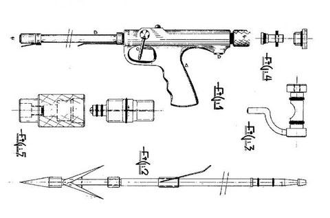 pelletier speargun harpon fucile fusil