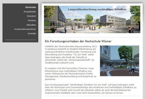 """Website Forschungsprojekt """"Tor-zur-Welt"""""""