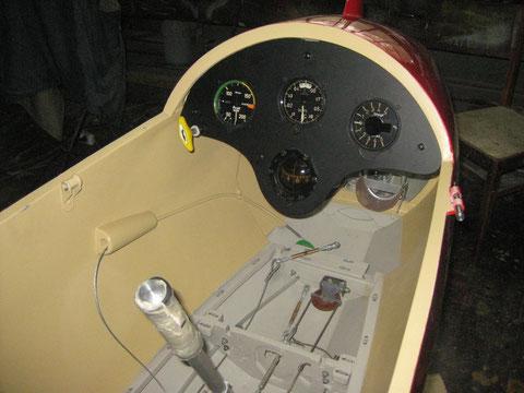 Instrument panel installation