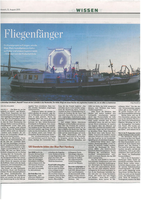 Hamburger Abendblatt 2015-08-12
