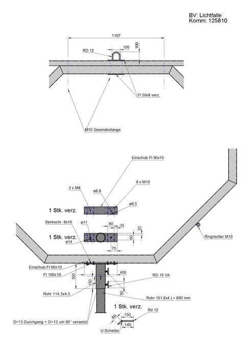 Konstruktionszeichnung / Detail