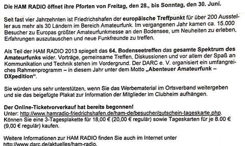 HAM Radio 2013