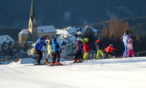 Skischule in Terenten, Skilift Panorama
