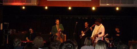 "The Bluesdockings (Quintet) at the famous ""Bulls Head"" in Barnes, London 2012"
