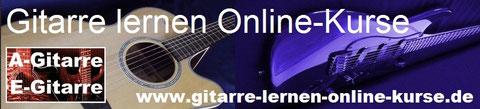 Gitarre lernen online: Kurse, Noten, Tabs, Videos