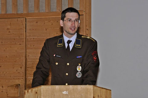 Kommandant OBI Georg Crepaz
