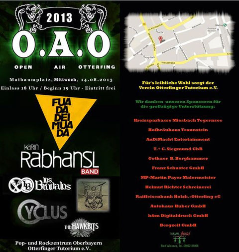 O.A.O - Open Air Otterfing 2013