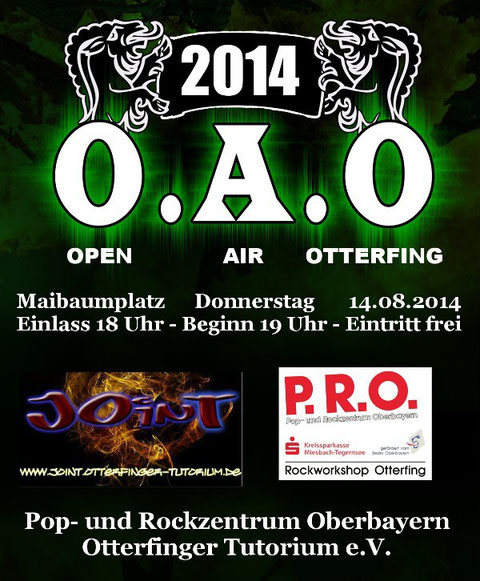 O.A.O - Open Air Otterfing 2014