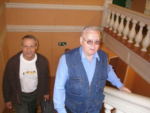 Творческий вечер поэта Фёдорова в Саратовском доме работников искусств_Ивлиев_Масян_26 мая 2009 г.