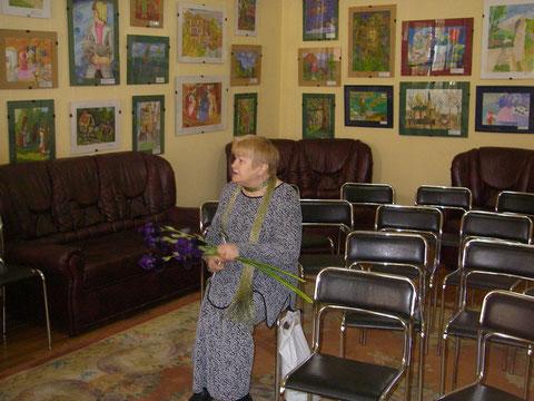 Творческий вечер поэта Фёдорова в Саратовском доме работников искусств_Баженова_26 мая 2009 г.