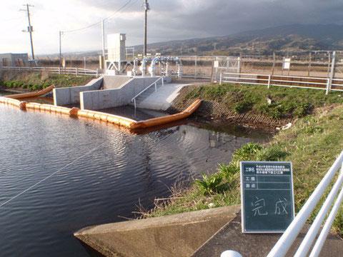 平成24年度 原浮島地区用水機場下部工1工区(東部農林事務所)