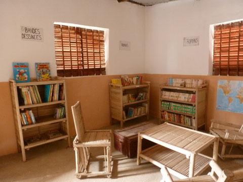 Intérieur de la bibliothèque