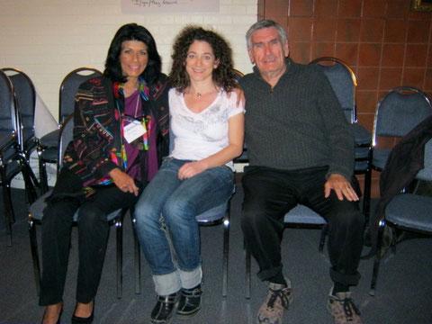 Valentina Rosenberg, Simone Straub, Marshall B. Rosenberg - März 2011