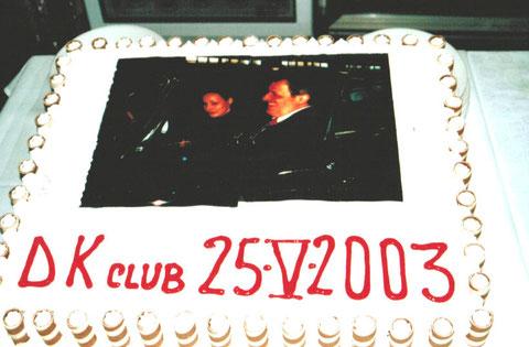 La torta dedicata a Giorgio Montorio e Ilaria Paci