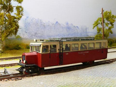 Der T1  der Eckernförder Kreisbahnen