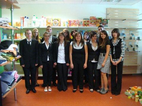 2nde Bac Pro Commerce 2010 2011