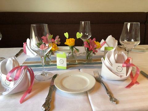 結婚記念日をフランス料理でお祝い。ヴィンテージワインで祝杯も。