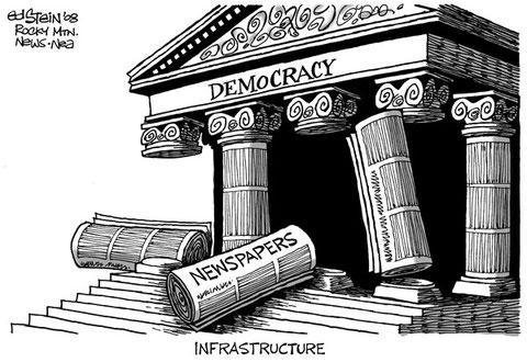 la democrazia si basa sulla libertà di stampa