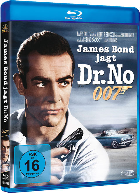 James Bond jagt Dr No - Danjaq LLC - Metro-Goldwyn-Mayer Studios - 20th Century Fox Home Entertainment - kulturmaterial