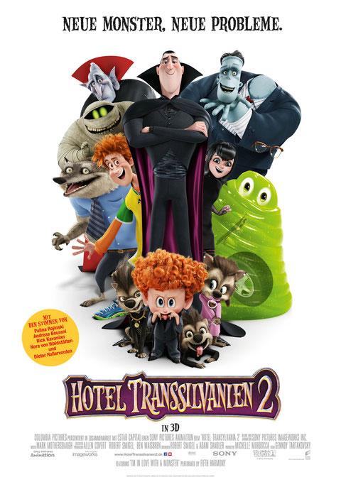 Hotel Transsilvanien 2 - Halloween - Sony - kulturmaterial - Plakat - Poster