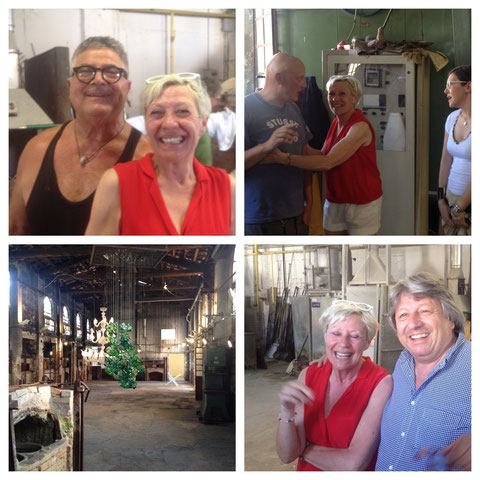 Visiting the Berengo Atelier in Murano