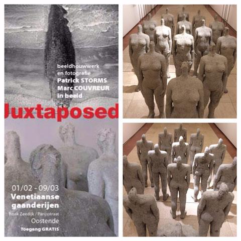 Bezoek aan Juxtaposed (Oostende)