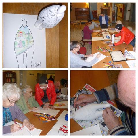Mieke Drossaert geeft workshop