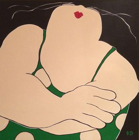 Mieke Drossaert - Acryl 100x100