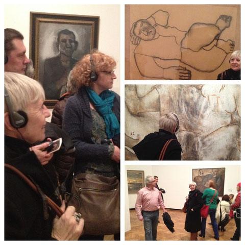Mieke Drossaert visits Permeke exhibition