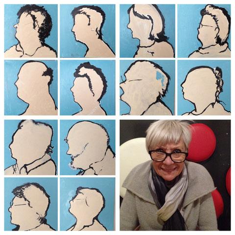 Mieke Drossaert, werken met oudere mensen
